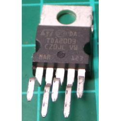 TDA2003, 10W Audio Power Amplifier