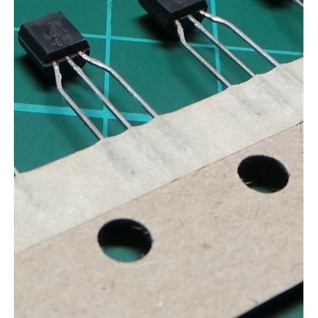 2N4401, NPN Transistor, 60V, 0.6A, 0.35W