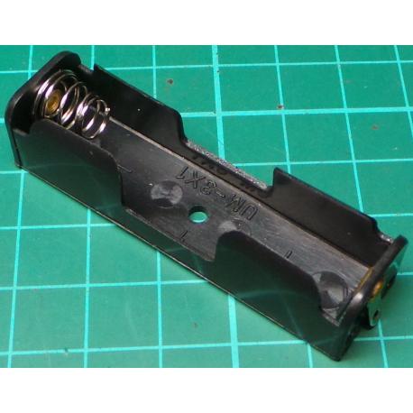 Battery Holder, 1 x AA / R6 / UM3, Solder Tags