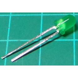 LED, Green , 4mm