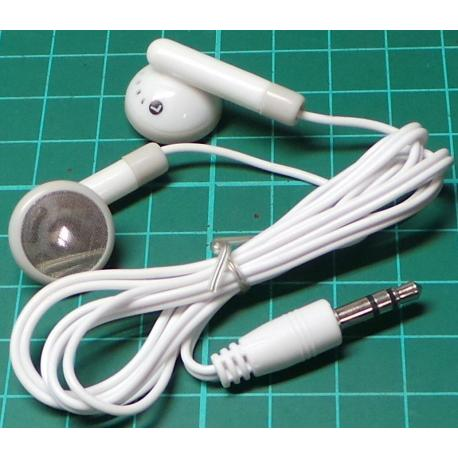 In Ear Headphones, 3.5mm Jack Connector, 2x32ohm