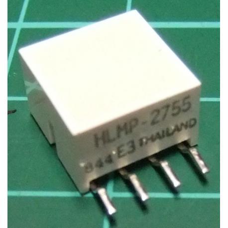 LED Array (4 LEDS), Yellow, HLMP-2755