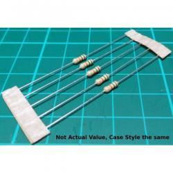 Resistor, 6M8, 5%, 0.25W