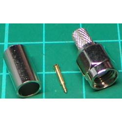 SMA Connector for 5mm cable (RG58/U)