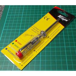 Electrical Screwdriver, Flat Blade, with 220V Tester