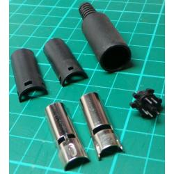 Mini Din Plug, 5 Pin