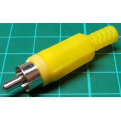 RCA / Phono Plug, Yellow