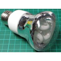 Energy Saving Bulb E27, 11W, With Reflector, Cold White