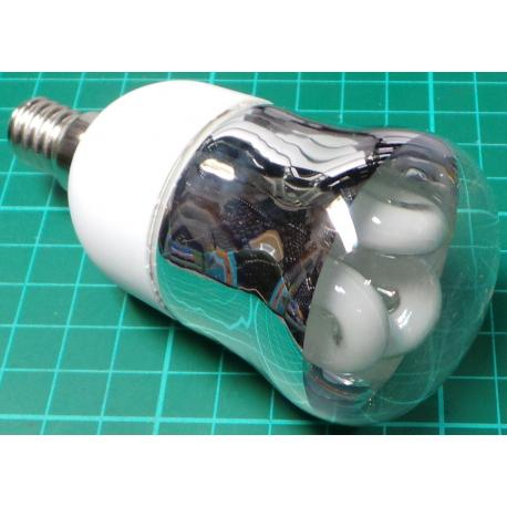 Energy Saving Bulb E14, 7W, With Reflector, Cold White