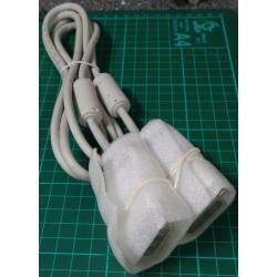 DVI to DVI Cable, with RF Chokes, 1.8m