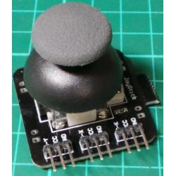 Joystick Module, with Switch. 2 x 4.7K