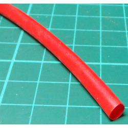 PVC Sleeving, 4.8mm Bore, Red