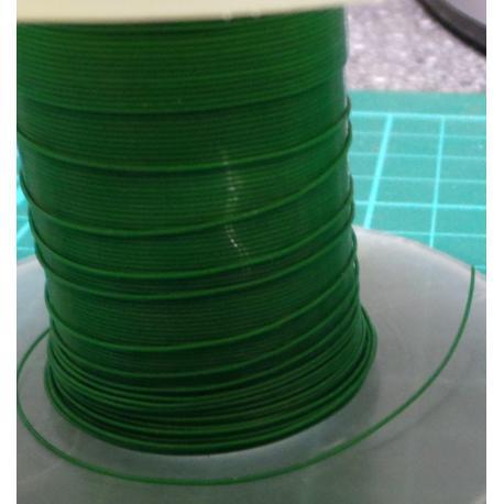 30AWG, 0.05mm2, Solid, ETFE, 150deg, Green