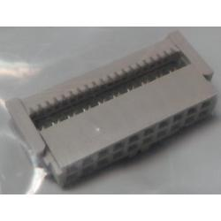 DIL IDC Female 20 Pin Connector, for Ribbon Cable 2.54mm pitch