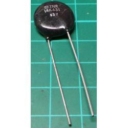 Varistor, ZNR 14K431, 430V, 16mm