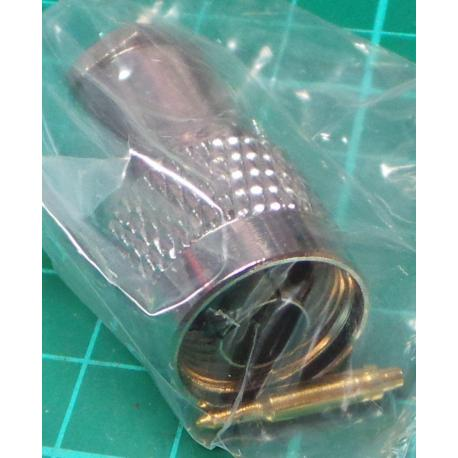N Type connector 5mm (for RG58 etc)