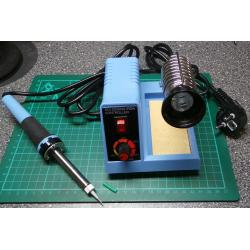 Soldering Station ZD99, temperature controlled, with stand and sponge,(European Plug)