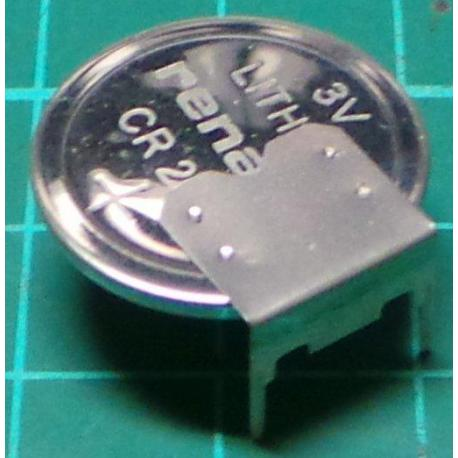 Battery, CR2025, PCB Mount
