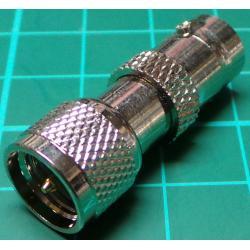 Mini UHF Male to BNC Female Adaptor