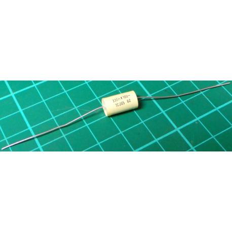 Capacitor, 330nF, 100V, Polyester Film, Rolled