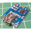 5V Mini USB 1A Lithium Battery Charger Module
