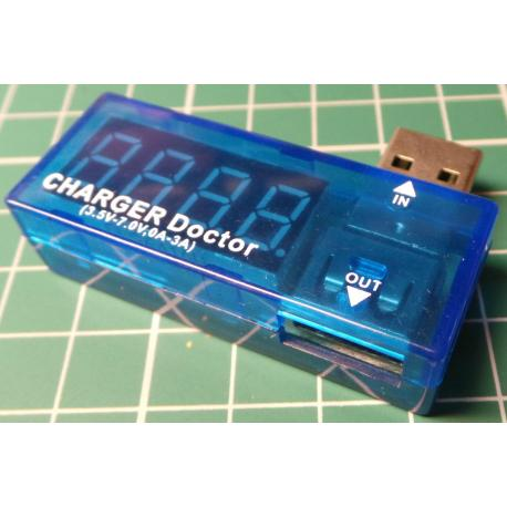 USB Power Current and Voltage Tester Module