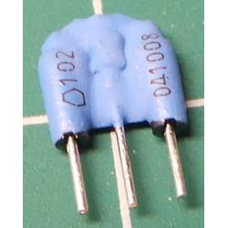 Capacitor Array, 2 x 1nF, 50V
