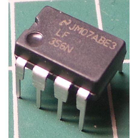 LF356N, JFET Op Amp, Wide Bandwith