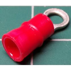 M3 Ring Terminal, Red