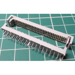 DIL IDC Female 34 Pin Transiston Heared, for Ribbon Cable, Old Stock
