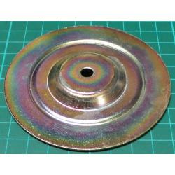 Toroidal Transformer top/bottom plate, 90mm dia, 7mm hole