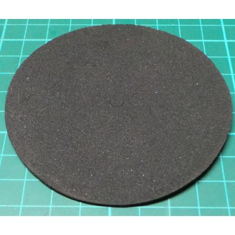 Toroidal Transformer Insulating pad, 87mm dia, 6mm hole