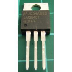 LM2940T-8.0, 1A, 8V Low Dropout Regulator