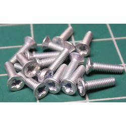 Screw, M2x8, Head Countersunk