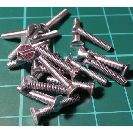 Screw, M2,5x14, Head Counersunk