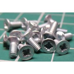 Screw, M2-5x6, Head Countersunk