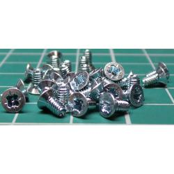 Screw, M2-5x5, Countersunk Head
