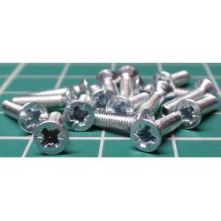 Screw, M2.5x10, Countersunk Head