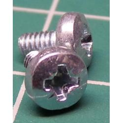 Screw, M2.5x5, Head