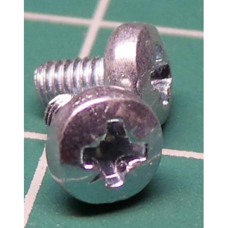 Screw, M2.5x5, Head