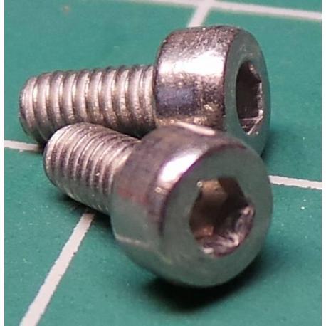 Screw, M2.5x6, Head