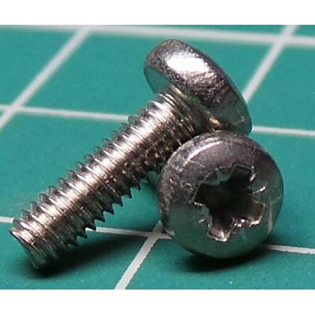 Screw, M2.5x9, Head