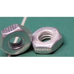 Nut, M2, for 4mm spanner