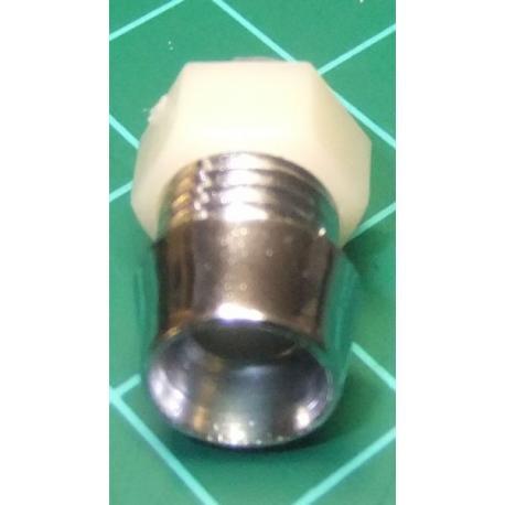 LED Bezel, Holder, 5mm, Silver