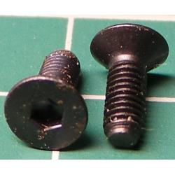 Screw M3x8 Countersunk Head
