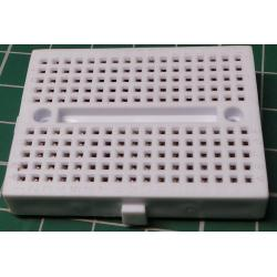 Breadboard, 47x35mm, 170 Hole, white