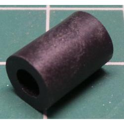 Plastic Standoff / Spacer, F-F, 3.6mm bore, 10mm board height