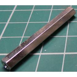 Distanční sloupek kovový M3x40mm 2xvnitřní závit