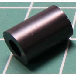 Distanční sloupek plastový KDR10 3,6/7mm, v10mm