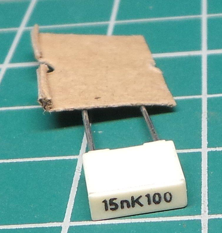 10 15nf 100v Capacitor Polyester Step 5mm 15 NF